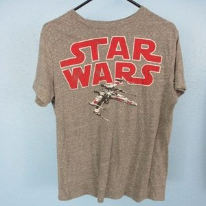 Star Wars X-Wing T-Shirt Medium Gray